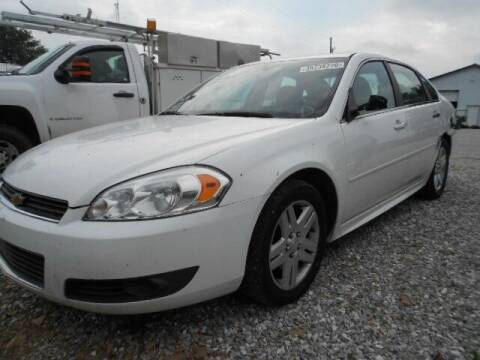 2011 Chevrolet Impala for sale at David Hammons Classic Cars in Crab Orchard KY