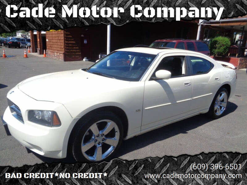 2010 Dodge Charger for sale at Cade Motor Company in Lawrenceville NJ