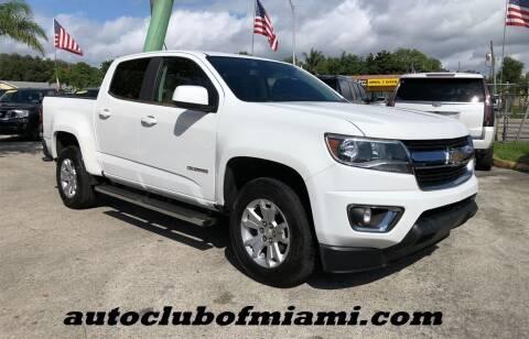2016 Chevrolet Colorado for sale at AUTO CLUB OF MIAMI, INC in Miami FL