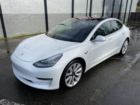 2018 Tesla Model 3 for sale at APX Auto Brokers in Lynnwood WA