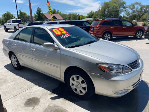 2003 Toyota Camry for sale at Allstate Auto Sales in Twin Falls ID