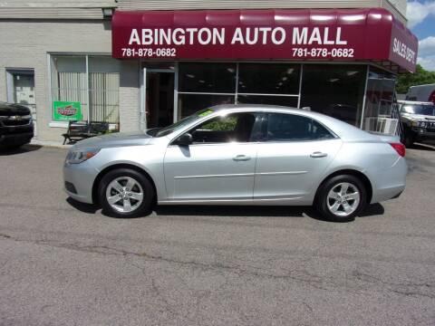2013 Chevrolet Malibu for sale at Abington Auto Mall LLC in Abington MA