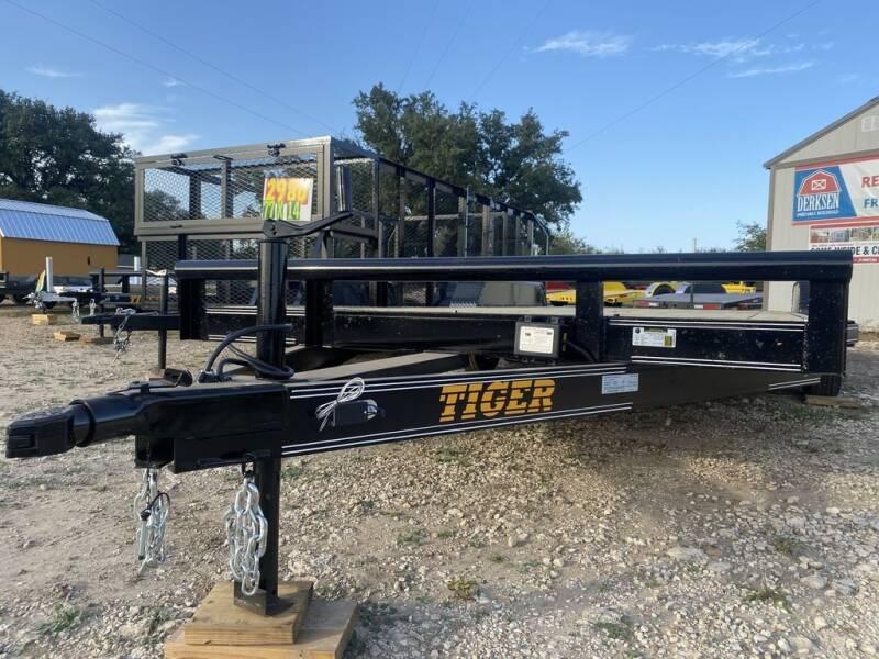 "2021 TIGER  - CAR HAULER 83"" X 20' - for sale at LJD Sales in Lampasas TX"