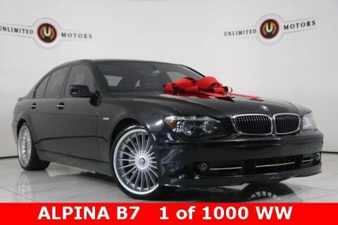 2007 BMW 7 Series for sale at INDY'S UNLIMITED MOTORS - UNLIMITED MOTORS in Westfield IN