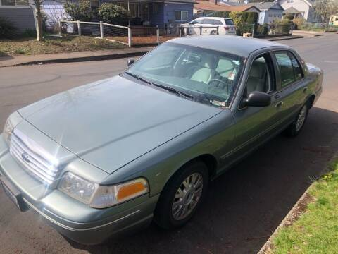2005 Ford Crown Victoria for sale at Blue Line Auto Group in Portland OR