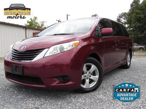 2011 Toyota Sienna for sale at High-Thom Motors in Thomasville NC