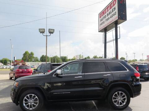 2014 Jeep Grand Cherokee for sale at United Auto Sales in Oklahoma City OK