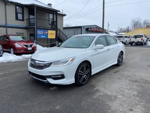 2017 Honda Accord for sale at Sisson Pre-Owned in Uniontown PA