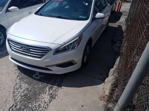 2016 Hyundai Sonata for sale at AUTO DEALS UNLIMITED in Philadelphia PA