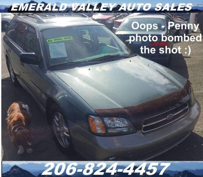 2001 Subaru Outback for sale at Emerald Valley Auto Sales in Des Moines WA