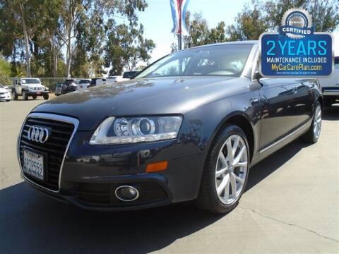 2011 Audi A6 for sale at Centre City Motors in Escondido CA