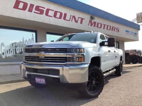 2016 Chevrolet Silverado 3500HD for sale at Discount Motors in Pueblo CO