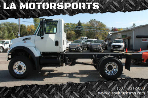 2006 International WorkStar 7300 for sale at LA MOTORSPORTS in Windom MN