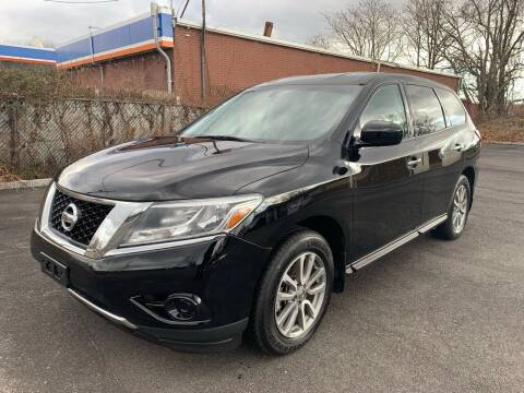 2013 Nissan Pathfinder for sale at Primary Motors Inc in Commack NY