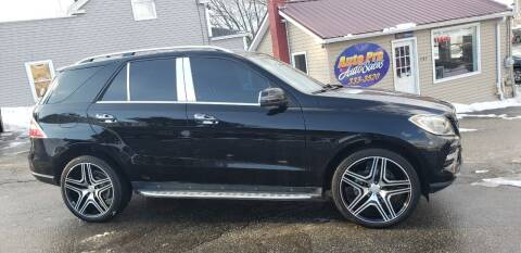 2013 Mercedes-Benz M-Class for sale at Auto Pro Auto Sales-797 Sabattus St. in Lewiston ME
