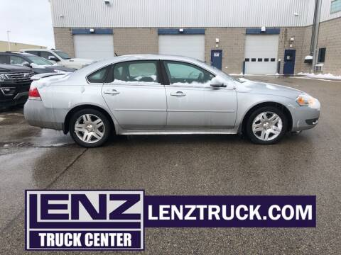 2011 Chevrolet Impala for sale at LENZ TRUCK CENTER in Fond Du Lac WI