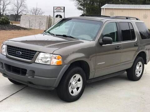 2002 Ford Explorer for sale at Two Brothers Auto Sales in Loganville GA