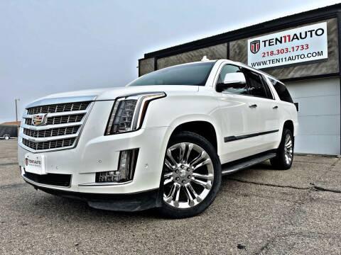 2019 Cadillac Escalade ESV for sale at Ten 11 Auto LLC in Dilworth MN
