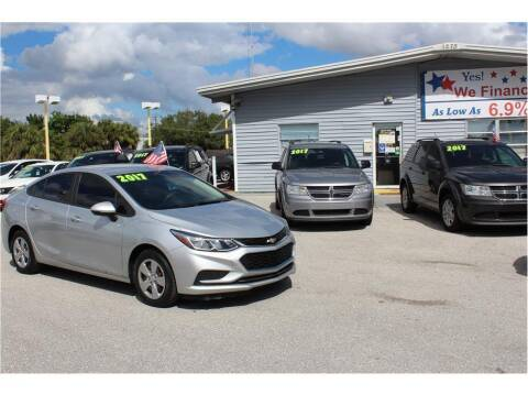 2017 Chevrolet Cruze for sale at My Value Car Sales in Venice FL