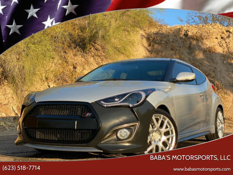 2013 Hyundai Veloster for sale at Baba's Motorsports, LLC in Phoenix AZ