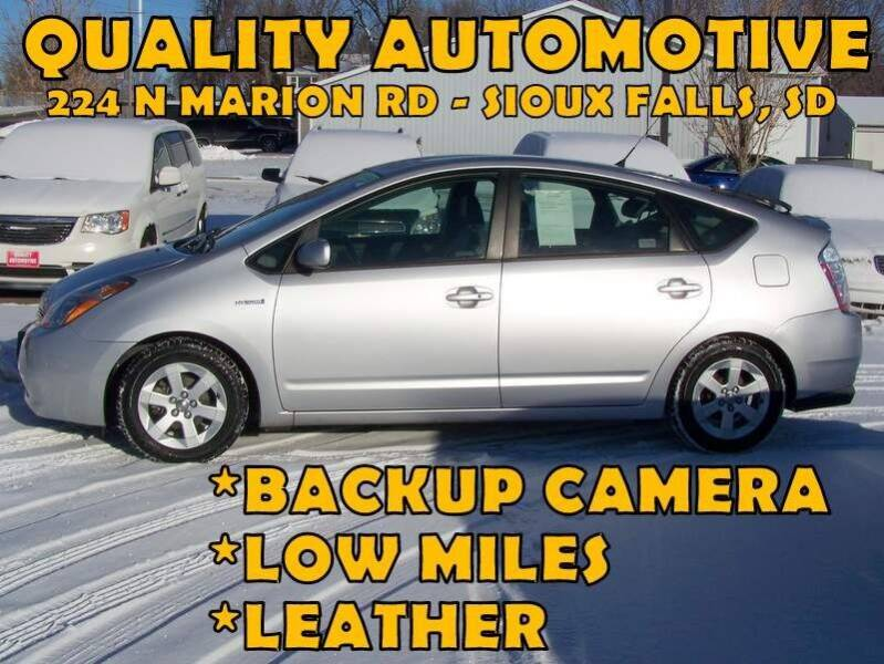 2008 Toyota Prius for sale at Quality Automotive in Sioux Falls SD