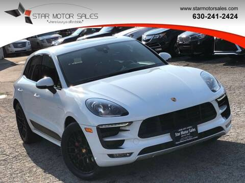 2018 Porsche Macan for sale at Star Motor Sales in Downers Grove IL
