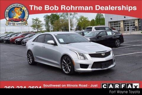 2016 Cadillac ATS-V for sale at BOB ROHRMAN FORT WAYNE TOYOTA in Fort Wayne IN