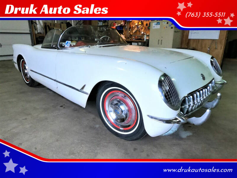 1954 Chevrolet Corvette for sale at Druk Auto Sales in Ramsey MN