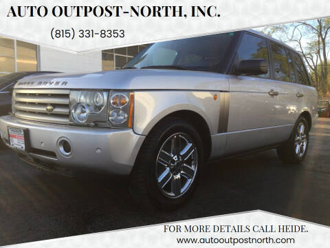 2005 Land Rover Range Rover for sale at Auto Outpost-North, Inc. in McHenry IL
