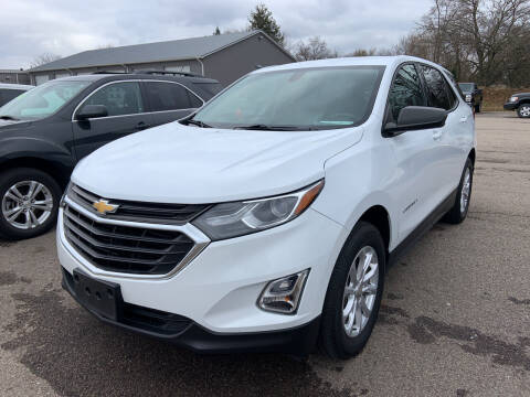 2018 Chevrolet Equinox for sale at Blake Hollenbeck Auto Sales in Greenville MI