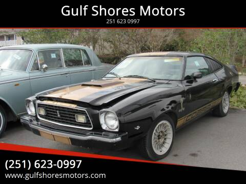 1976 Ford Mustang for sale at Gulf Shores Motors in Gulf Shores AL