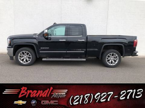 2017 GMC Sierra 1500 for sale at Brandl GM in Aitkin MN