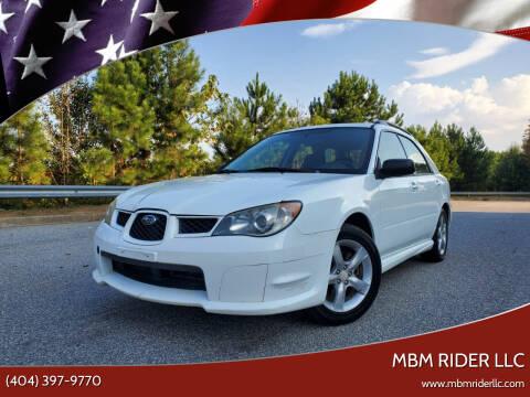 2006 Subaru Impreza for sale at MBM Rider LLC in Alpharetta GA