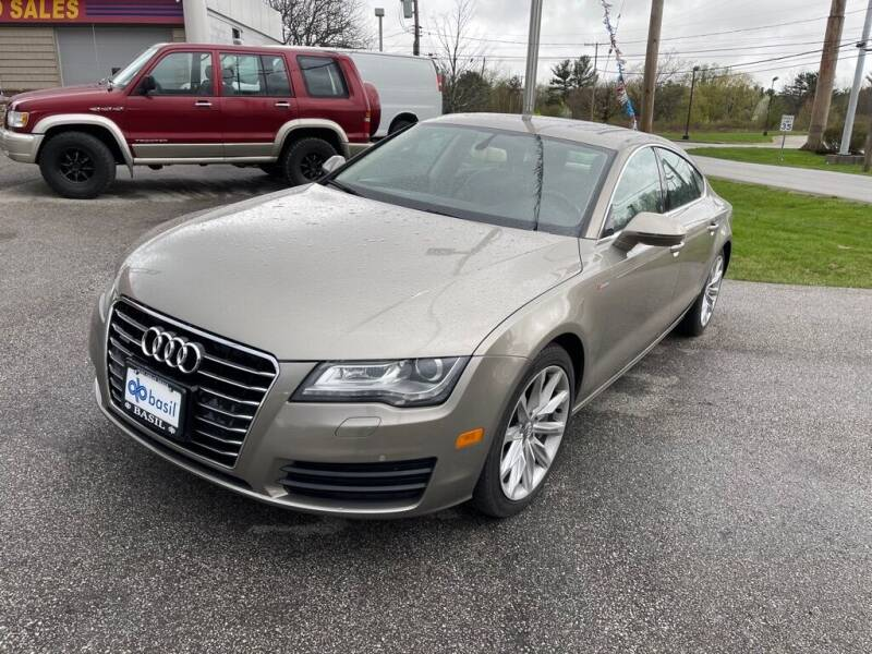 2012 Audi A7 for sale at Best Motor Auto Sales in Geneva OH