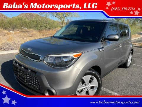 2015 Kia Soul for sale at Baba's Motorsports, LLC in Phoenix AZ