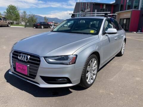 2013 Audi A4 for sale at Snyder Motors Inc in Bozeman MT