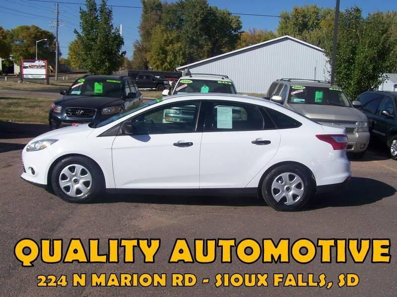 2014 Ford Focus for sale at Quality Automotive in Sioux Falls SD