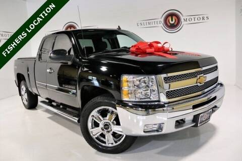 2013 Chevrolet Silverado 1500 for sale at Unlimited Motors in Fishers IN