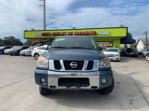 2012 Nissan Titan for sale at Auto Outlet of Sarasota in Sarasota FL