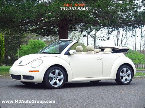 2007 Volkswagen New Beetle Convertible for sale at M2 Auto Group Llc. EAST BRUNSWICK in East Brunswick NJ