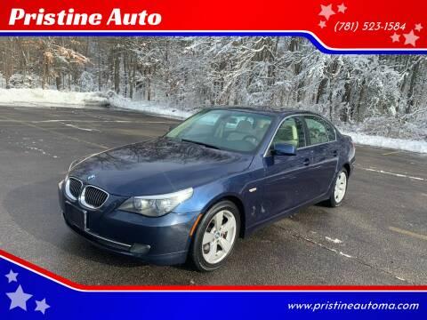 2008 BMW 5 Series for sale at Pristine Auto in Whitman MA
