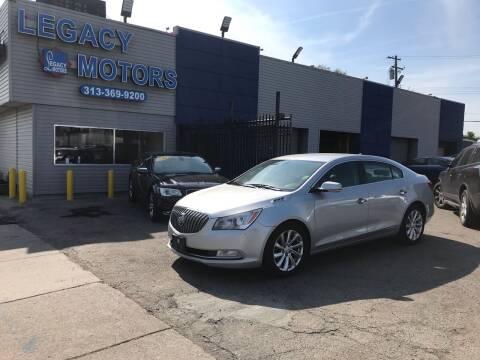 2014 Buick LaCrosse for sale at Legacy Motors in Detroit MI