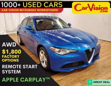 2019 Alfa Romeo Giulia for sale at Car Vision Buying Center in Norristown PA