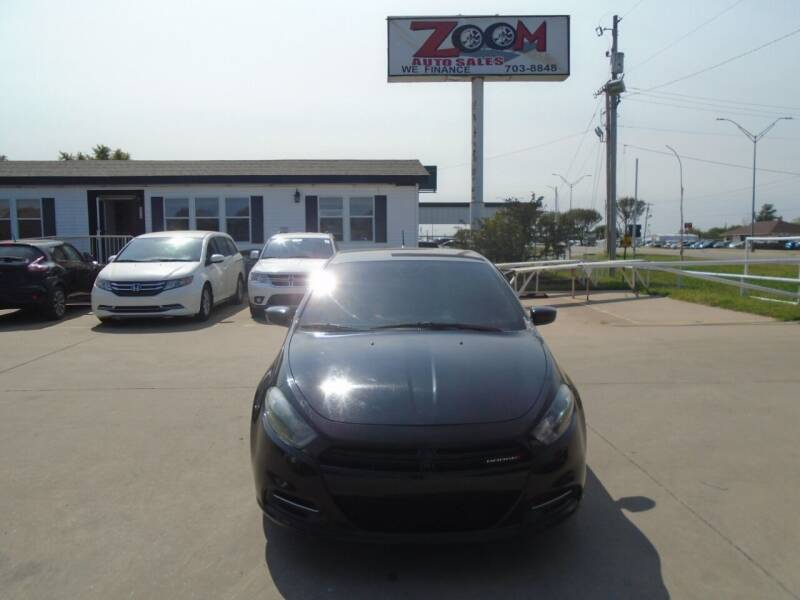 2016 Dodge Dart for sale at Zoom Auto Sales in Oklahoma City OK