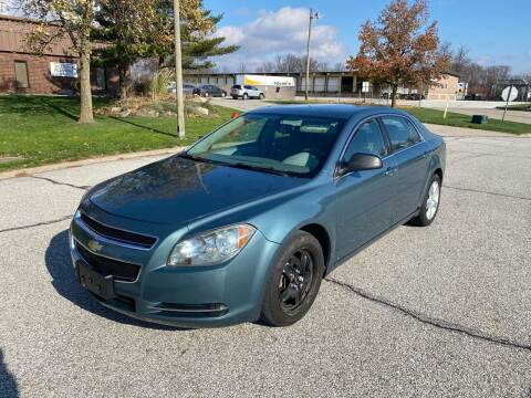 2009 Chevrolet Malibu for sale at JE Autoworks LLC in Willoughby OH
