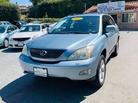 2004 Lexus RX 330 for sale at MotorMax in Lemon Grove CA