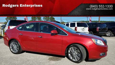 2012 Buick Verano for sale at Rodgers Enterprises in North Charleston SC