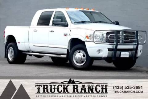 2007 Dodge Ram Pickup 3500 for sale at Truck Ranch in Logan UT