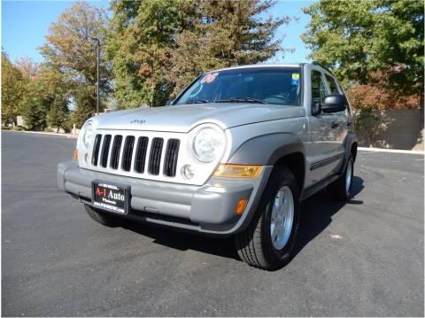 2006 Jeep Liberty for sale at A-1 Auto Wholesale in Sacramento CA