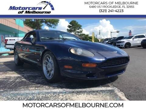 1997 Aston Martin DB7 for sale at Motorcars of Melbourne in Rockledge FL